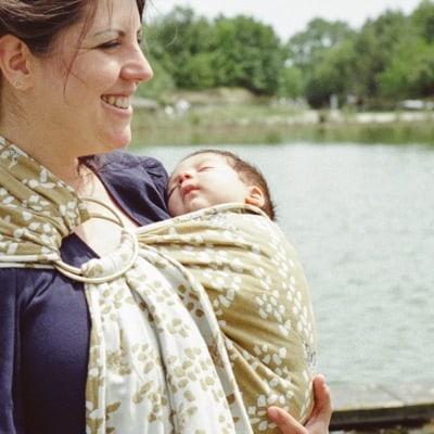 sling bebe moyen portage